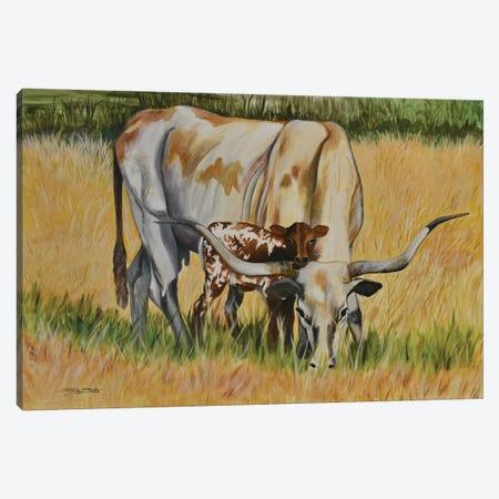 Pretty Baby Canvas Print #SZS35} by SueZan Stutts Canvas Print