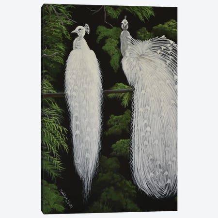 Pure Elegance Canvas Print #SZS36} by SueZan Stutts Art Print