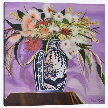 Surprise Bouquet Canvas Print #SZS42} by SueZan Stutts Canvas Print