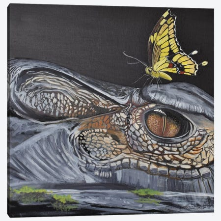 Swamp Friends Canvas Print #SZS43} by SueZan Stutts Canvas Art Print