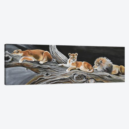 The Best Resting Spot Canvas Print #SZS47} by SueZan Stutts Canvas Wall Art