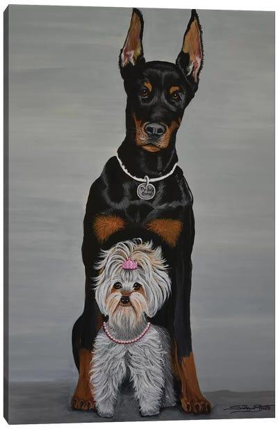 The Body Guard Canvas Art Print