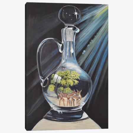 The Decant Canvas Print #SZS50} by SueZan Stutts Canvas Artwork
