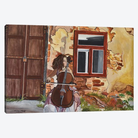 The Last Concert Canvas Print #SZS51} by SueZan Stutts Canvas Wall Art
