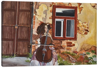 The Last Concert Canvas Art Print