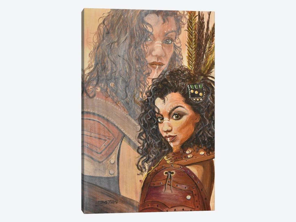 The Warrior Within by SueZan Stutts 1-piece Canvas Print