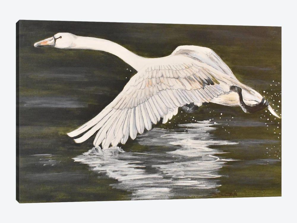 Wingtip Dip by SueZan Stutts 1-piece Canvas Print
