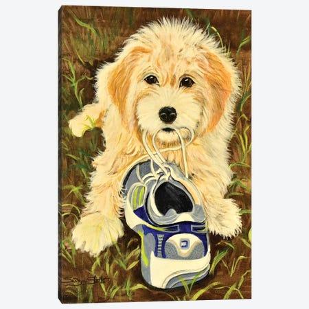 What Shoe Canvas Print #SZS60} by SueZan Stutts Art Print