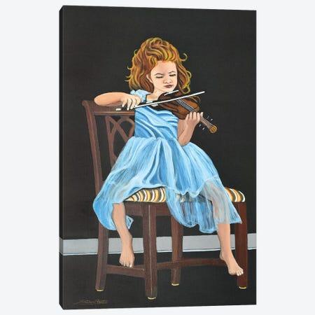 The Protege D Canvas Print #SZS71} by SueZan Stutts Canvas Artwork