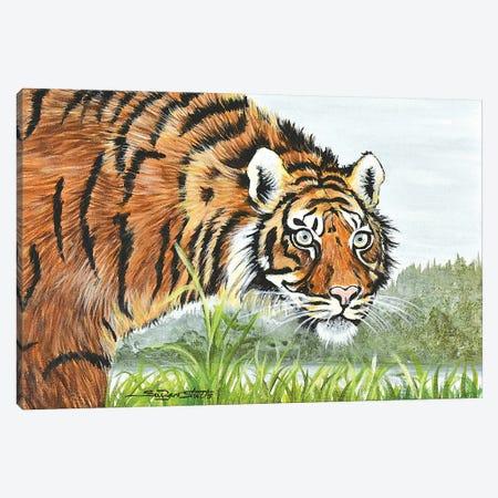Tiger, You've Got That Look Canvas Print #SZS72} by SueZan Stutts Canvas Artwork