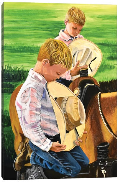 Not Their First Rodeo Canvas Art Print