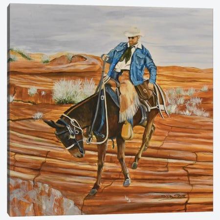 Easy Longears Canvas Print #SZS8} by SueZan Stutts Canvas Art