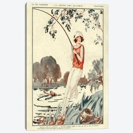 1924 La Vie Parisienne Magazine Plate Canvas Print #TAA104} by The Advertising Archives Art Print