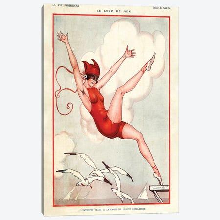 1924 La Vie Parisienne Magazine Plate Canvas Print #TAA105} by The Advertising Archives Art Print