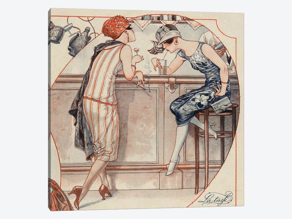 1925 La Vie Parisienne Magazine Plate by The Advertising Archives 1-piece Canvas Art Print