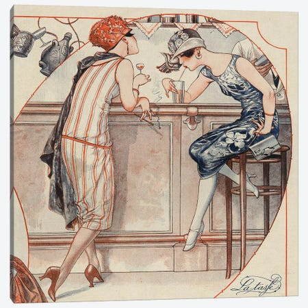 1925 La Vie Parisienne Magazine Plate Canvas Print #TAA109} by The Advertising Archives Canvas Art