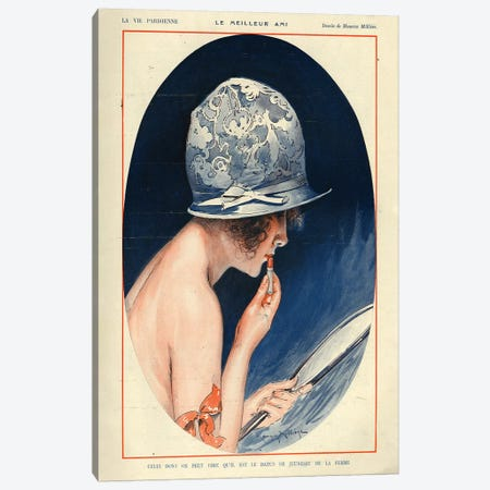 1925 La Vie Parisienne Magazine Plate Canvas Print #TAA113} by The Advertising Archives Canvas Art Print