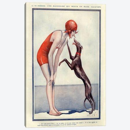 1925 La Vie Parisienne Magazine Plate Canvas Print #TAA119} by The Advertising Archives Canvas Art Print