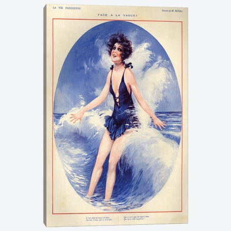 1926 La Vie Parisienne Magazine Plate Canvas Print #TAA123} by The Advertising Archives Canvas Artwork