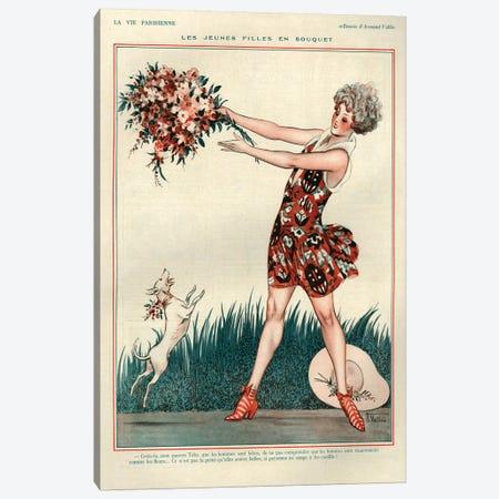 1926 La Vie Parisienne Magazine Plate Canvas Print #TAA125} by The Advertising Archives Canvas Art Print