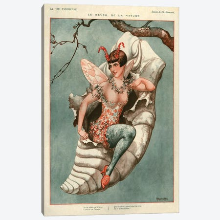 1926 La Vie Parisienne Magazine Plate Canvas Print #TAA126} by The Advertising Archives Art Print