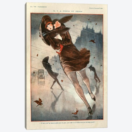 1926 La Vie Parisienne Magazine Plate Canvas Print #TAA128} by The Advertising Archives Canvas Wall Art