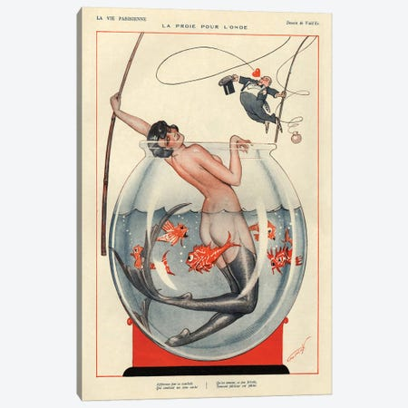 1926 La Vie Parisienne Magazine Plate Canvas Print #TAA133} by The Advertising Archives Canvas Print