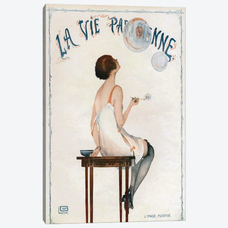 1927 La Vie Parisienne Magazine Cover Canvas Print #TAA135} by The Advertising Archives Canvas Art