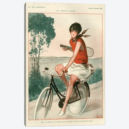 1927 La Vie Parisienne Magazine Plate Canvas Print #TAA138} by The Advertising Archives Canvas Print