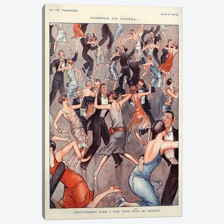 1927 La Vie Parisienne Magazine Plate Canvas Print #TAA141} by The Advertising Archives Canvas Art