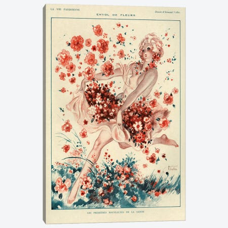 1927 La Vie Parisienne Magazine Plate Canvas Print #TAA142} by The Advertising Archives Canvas Art