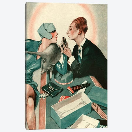 1927 La Vie Parisienne Magazine Plate Canvas Print #TAA143} by The Advertising Archives Canvas Artwork