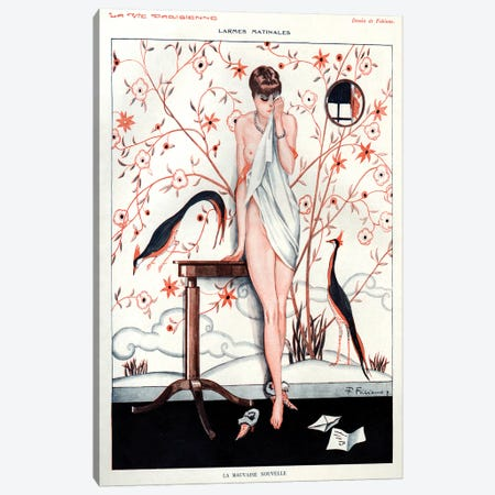 1928 La Vie Parisienne Magazine Plate Canvas Print #TAA146} by The Advertising Archives Canvas Print