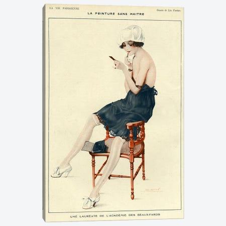 1918 La Vie Parisienne Magazine Plate Canvas Print #TAA14} by Leo Fontan Canvas Print