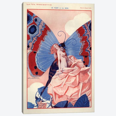 1929 La Vie Parisienne Magazine Plate Canvas Print #TAA156} by The Advertising Archives Canvas Wall Art