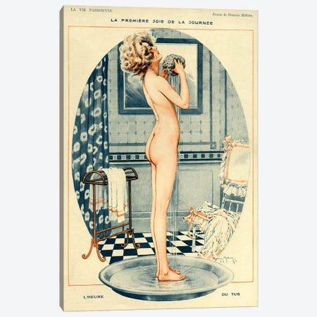 1918 La Vie Parisienne Magazine Plate Canvas Print #TAA15} by Maurice Milliere Canvas Print