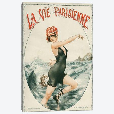 1919 La Vie Parisienne Magazine Cover Canvas Print #TAA16} by Cheri Herouard Art Print