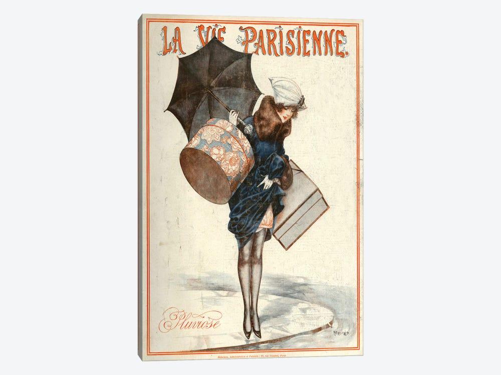 1923 La Vie Parisienne Magazine Cover by Cheri Herouard 1-piece Canvas Art Print