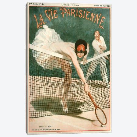 1924 La Vie Parisienne Magazine Cover Canvas Print #TAA186} by Armand Vallee Art Print