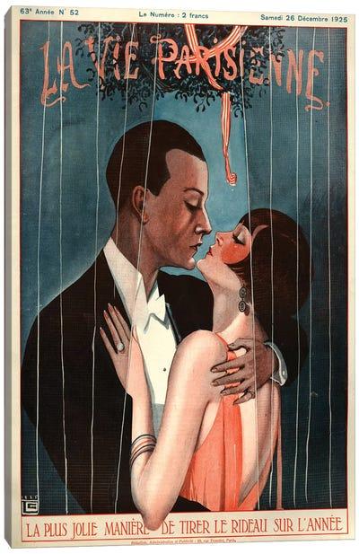 1925 La Vie Parisienne Magazine Cover Canvas Art Print