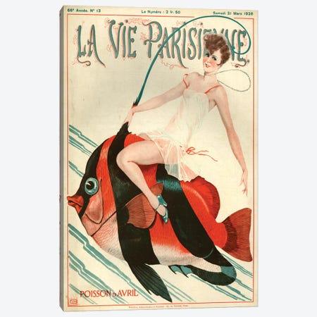 1927 La Vie Parisienne Magazine Cover Canvas Print #TAA198} by Georges Leonnec Art Print