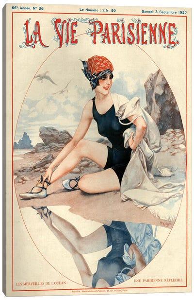 1927 La Vie Parisienne Magazine Cover Canvas Art Print