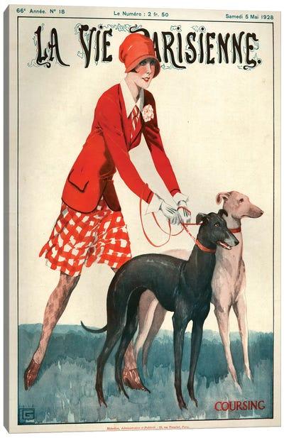 1928 La Vie Parisienne Magazine Cover Canvas Art Print