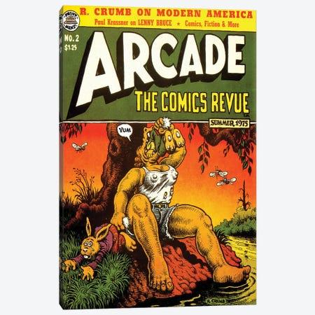 1975 Arcade Comics Revue Canvas Print #TAA209} by Robert Crumb Canvas Art Print