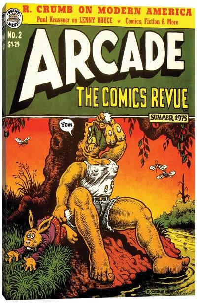 1975 Arcade Comics Revue Canvas Art Print