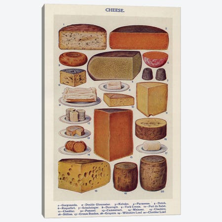 1900s Mrs Beeton's Book Of Houshold Management Canvas Print #TAA215} by The Advertising Archives Art Print
