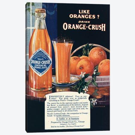 1920s Orange Crush Magazine Advert Canvas Print #TAA236} by The Advertising Archives Canvas Art Print