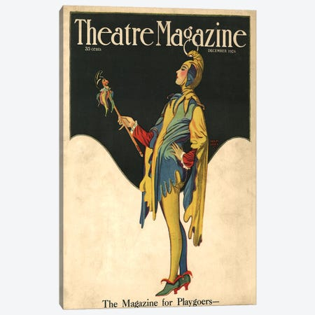 1921 Theatre Magazine Cover Canvas Print #TAA243} by The Advertising Archives Art Print