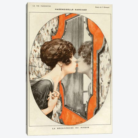 1919 La Vie Parisienne Magazine Plate Canvas Print #TAA24} by The Advertising Archives Canvas Artwork