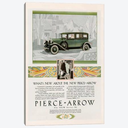 1928 Pierce-Arrow Magazine Advert Canvas Print #TAA253} by The Advertising Archives Canvas Art